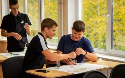 Детский технопарк «Кванториум» в Ачинске провёл первые мастер-классы